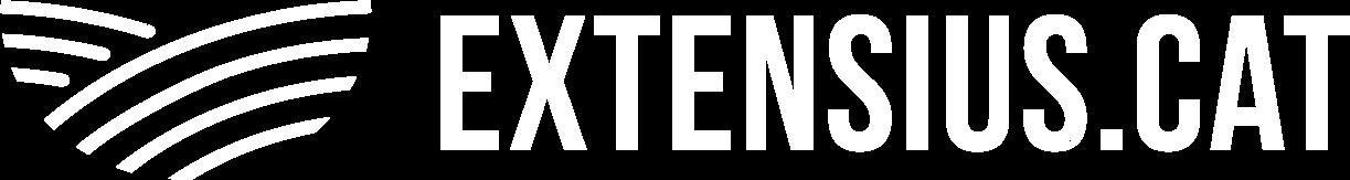 extensius logo blanc