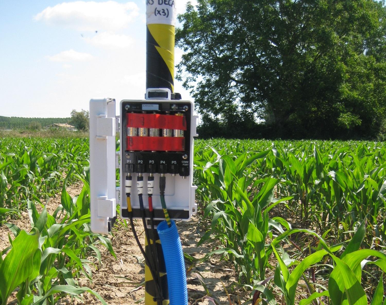Ús de sensors per a la gestió del reg en cultius extensius