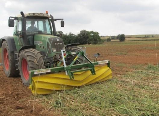 Gestió dels cultius de cobertura amb el roller crimper