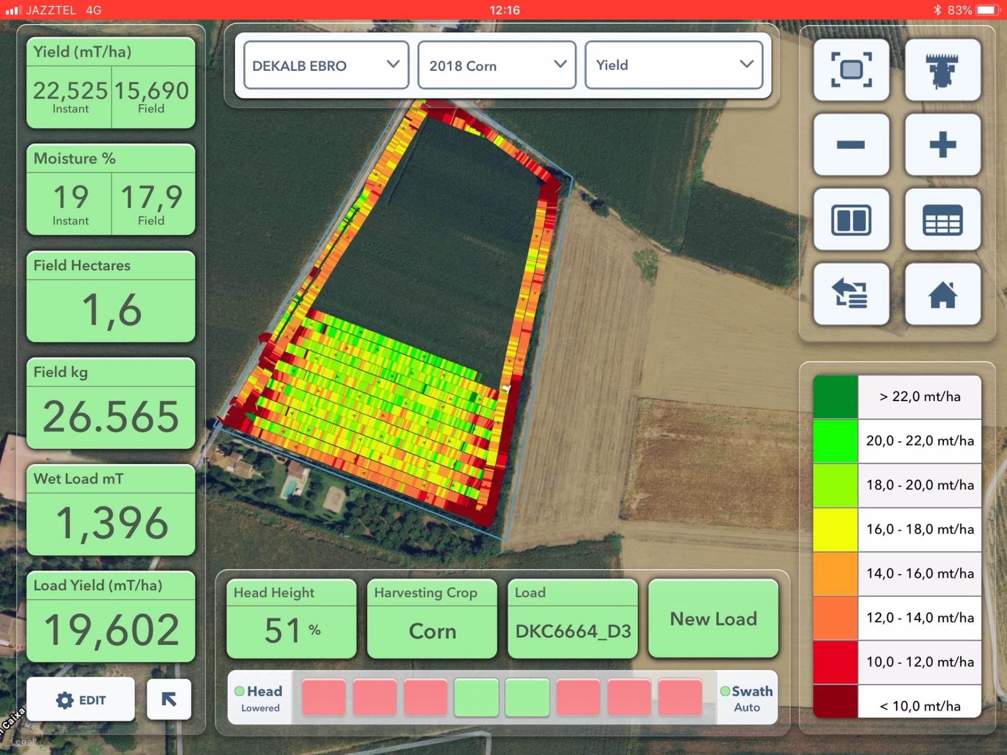 Agricultura de precisió : Els mapes de collita
